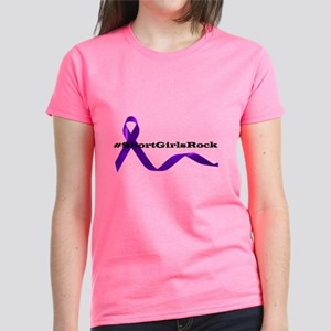 Purple Ribbon Awareness T-Shirt